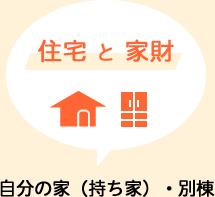 山形県民共済|新型火災共済|自分の家(持ち家)・別棟